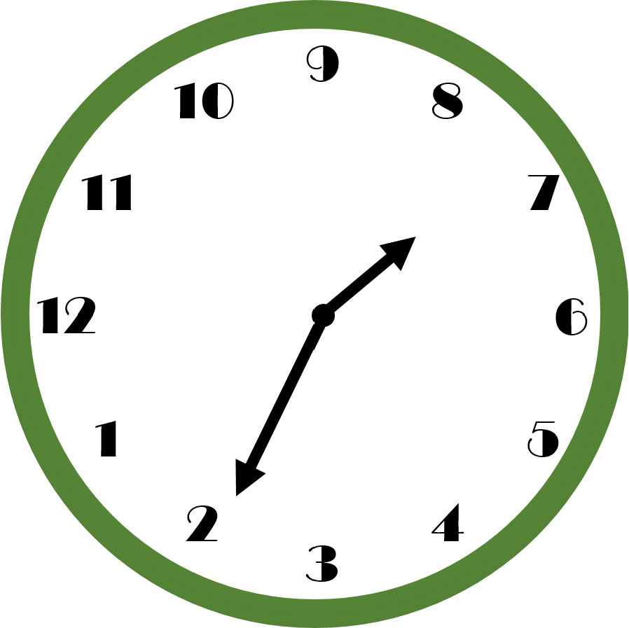 What time does this clock read?  A non-standardized design increases the amount of thinking time required to get the answer.  After significant deliberation, hopefully you see that the time is 7:11.